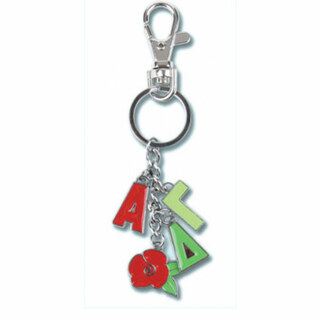 Alpha Gamma Delta Charm Key Chains