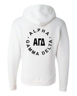 Alpha Gamma Delta Circle Hoodie
