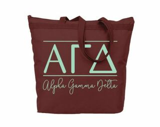 Alpha Gamma Delta Classic Tote