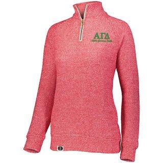 Alpha Gamma Delta Cuddly 1/4 Zip Pullover