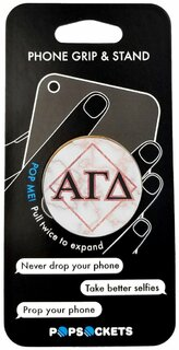 Alpha Gamma Delta Diamond Pop Socket
