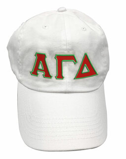 Alpha Gamma Delta Double Greek Letter Cap