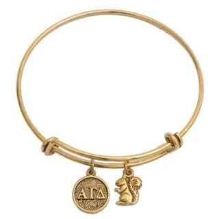 Alpha Gamma Delta Expandable Bracelet
