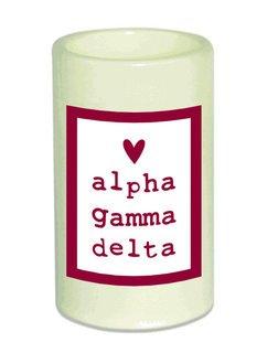 Alpha Gamma Delta Flameless Candle