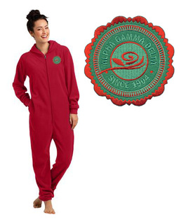 Alpha Gamma Delta Fleece Lounger