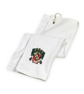 Alpha Gamma Delta Golf Towel