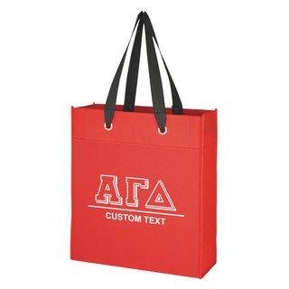 Alpha Gamma Delta Grommet Tote Bag