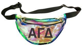 Alpha Gamma Delta Holographic Fanny Pack