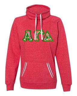 Alpha Gamma Delta J. America Relay Cowlneck Sweatshirt