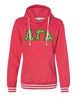 Alpha Gamma Delta J. America Relay Hooded Sweatshirt