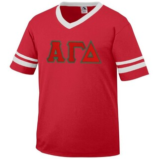 Alpha Gamma Delta Jersey With Custom Sleeves