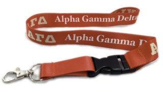 Alpha Gamma Delta Lanyard