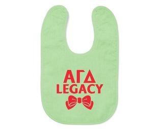 Alpha Gamma Delta Legacy Bib
