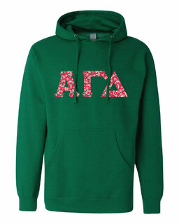 Alpha Gamma Delta Lettered Independent Trading Co. Hooded Pullover Sweatshirt