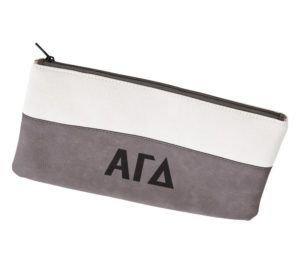Alpha Gamma Delta Letters Cosmetic Bag