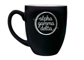 Alpha Gamma Delta Logo Bistro Mug