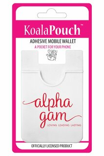 Alpha Gamma Delta Logo Koala Pouch