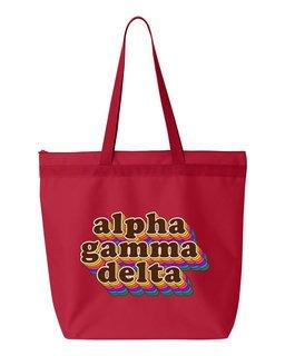 Alpha Gamma Delta Maya Tote Bag