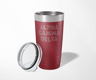 Alpha Gamma Delta Modera Tumbler