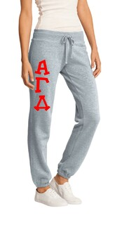 Alpha Gamma Delta Junior Core Fleece Pant
