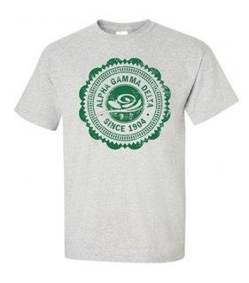 d469860fd80715 Alpha Gamma Delta Old Style Classic T-Shirt