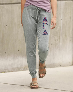 Alpha Gamma Delta Be All Stretch Terry Sorority Pants