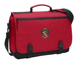 DISCOUNT-Alpha Gamma Delta Emblem Briefcase
