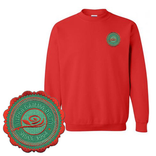 Alpha Gamma Delta Patch Seal Sweatshirt