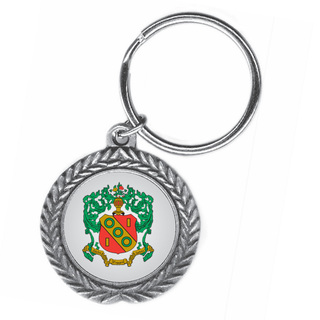 Alpha Gamma Delta Pewter Key Ring