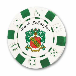 Alpha Gamma Delta Poker Chips