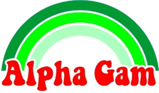 Alpha Gamma Delta Rainbow Decals