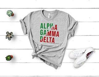 Alpha Gamma Delta Ripped Favorite T-Shirt