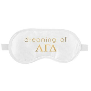 Alpha Gamma Delta Satin Sleep Masks
