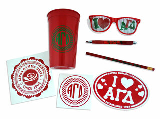 Alpha Gamma Delta Sister Set - Save 20%