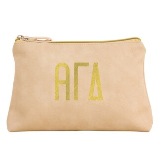Alpha Gamma Delta Sorority Cosmetic Bag