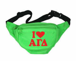 Alpha Gamma Delta Sorority Fanny Pack