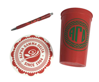Alpha Gamma Delta Sorority For Starters Collection $8.95