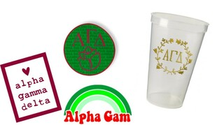 Alpha Gamma Delta Sorority Large Pack $15.00
