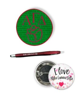 Alpha Gamma Delta Sorority Pack $5.99
