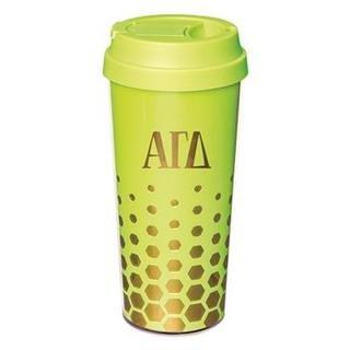 Alpha Gamma Delta Sparkle Coffee Tumblers