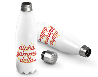 Alpha Gamma Delta Star Bottle