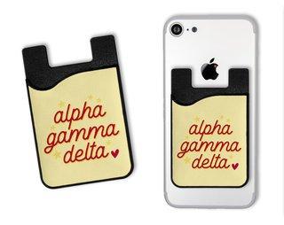 Alpha Gamma Delta Star Card Caddy
