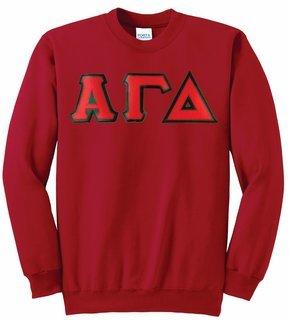 Alpha Gamma Delta Super Saver Letttered Crewneck