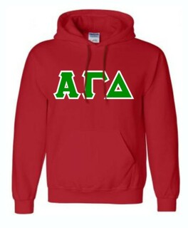 Alpha Gamma Delta Hand Sewn Sweatshirts Hoodie