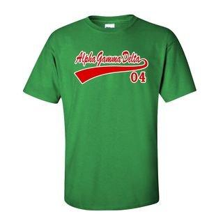 Alpha Gamma Delta Tail T-Shirts