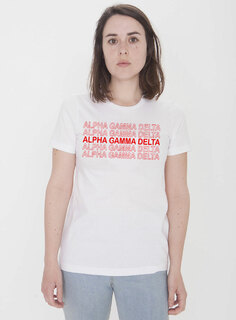 Alpha Gamma Delta Thank You For Shopping Tee - Comfort Colors