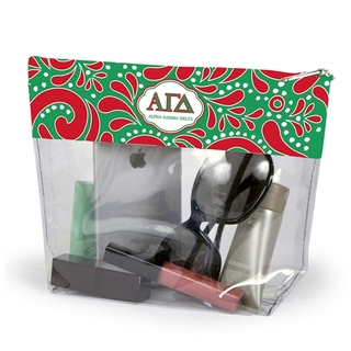 Alpha Gamma Delta Travel Pouch