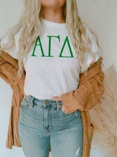 Alpha Gamma Delta University Greek T-Shirts