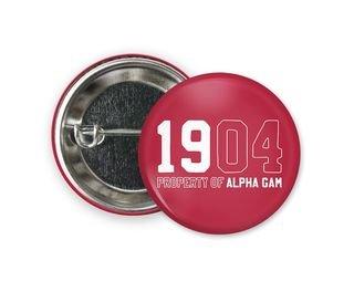 Alpha Gamma Delta Year Button
