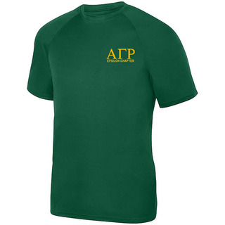 Alpha Gamma Rho- $19.95 World Famous Dry Fit Wicking Tee